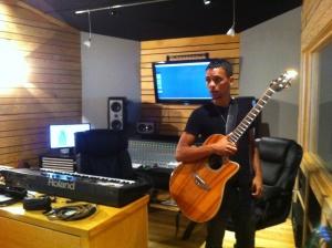 Perrie Kitching studio